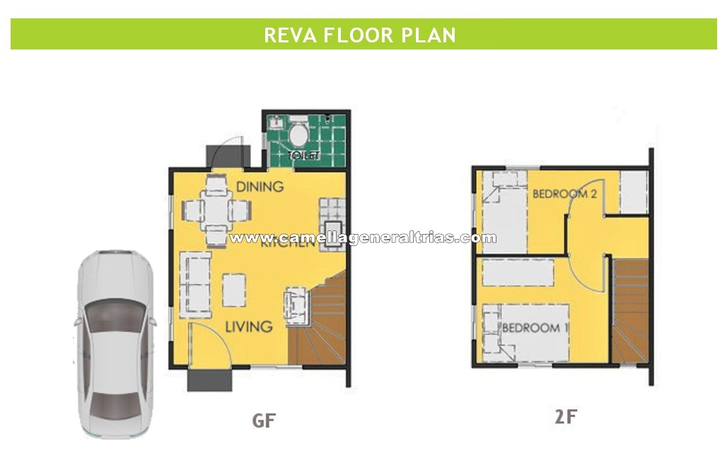 Reva  House for Sale in General Trias