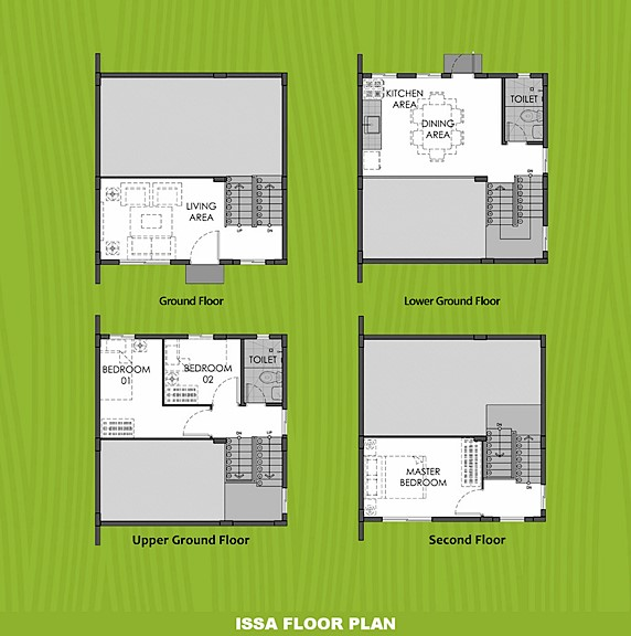 Issa Floor Plan House and Lot in General Trias
