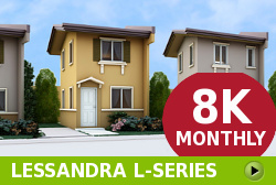 Lessandra Affordable Houses in Camella General Trias