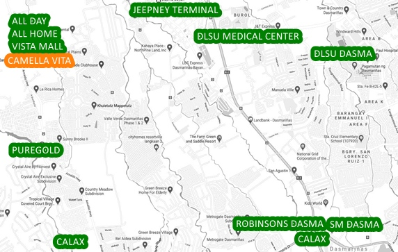 General Trias Property Vicinity Map