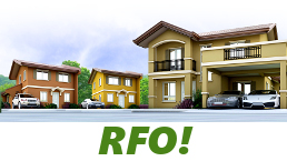 RFO Units for Sale in Camella General Trias.