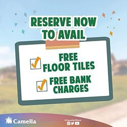 Promo for Camella General Trias.